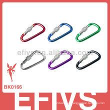 2013 mosquetón de aluminio con anillo de cierre