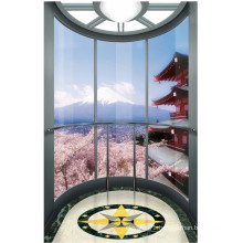 Sightseeing Elevator Landscape Lift with Glass Cabin
