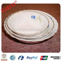 Round Ceramic Porcelain Bowl Wholesale in China