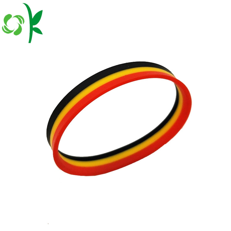 Printed Logo Silicone Bands