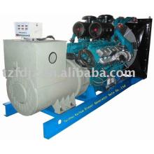 Conjuntos de generador diesel refrigerados por agua de 550kw Shangai Pa'ou