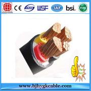 Stranded Copper Electric Cable 6.35kV / 11kV Single Layer Aluminium Wire Armour