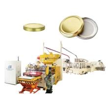 Glass Bottle Fruit Tinplate Cap Production Line