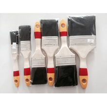 High Quality Multi-Colour Wooden Handle Brsitle Paint Brush (YY-617)
