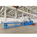 Extrusora de doble tornillo Polvo de madera Plástico WPC Composits Línea de producción