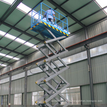 18m  300Kg Towable Type Industrial Electric Scissor Lift
