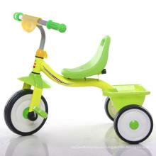Простой и красочный детский трицикл
