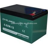 DZM Series VRLA Gel Type E-bike Battery, 12V 16.5Ah @ 20hr rate