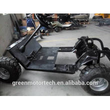 Steel car frame for ev