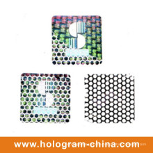 Silber Tamper Evident Embossing Aluminiumfolie Honeycomb