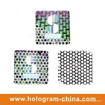 Пломбировочная Улей Hologram Выбивая Материалы Алюминиевой Фольги