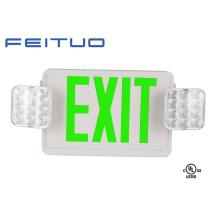 Lumière de secours, UL Combo, signe de sortie, signe de LED, sortie de secours