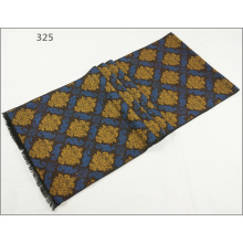 Men′s Womens Unisex Reversible Cashmere Feel Winter Warm Checked Diamond Printing Thick Knitted Woven Scarf (SP812)