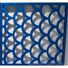 Перфорированный сгибаемый алюминиевый перфорированный лист 2,5-4 мм