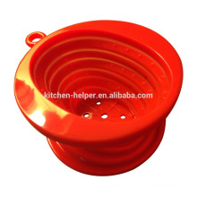 Chine Professionnel Fabricant Food Grade Résistant à la chaleur Foldable Vietnam Style Silicone Coffee Dripper / Silicone Coffee Filter
