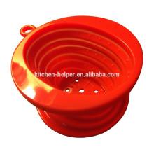 Китай Профессиональный производитель Продовольственная класса жароустойчивых Складная Вьетнам Стиль силиконовый кофе капельница / Силиконовый кофе фильтра