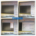 Máquina de corte del laser de la fibra de 20m m para el metal 500w 750w 2000w 3000w para Steel304 inoxidable 401, acero de carbón, aluminio