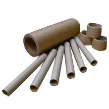 Cheap price custom brown cardboard kraft paper core tube in pallet