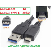 Новый USB 3.1 C Мужской до 3.0 a Мужской USB-кабель