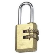 Alta calidad de seguridad de latón combinación de candado (J-8040)
