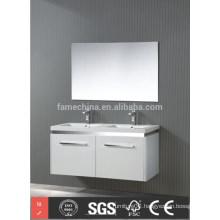 double sink wall mount bathroom vanity set