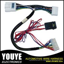 Câblage et faisceau de câbles électriques des véhicules à moteur adaptés aux besoins du client d'Assemblée de harnais de fil