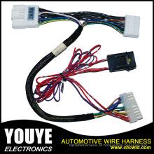 Chicote de fios automotivo elétrico personalizado do conjunto de chicote de fios do fio e conjunto de cabo