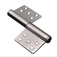 SUS 304 Wooden Door Hinge Self Closing Shower Door Hinge Toilet Cubicles Door Hinges