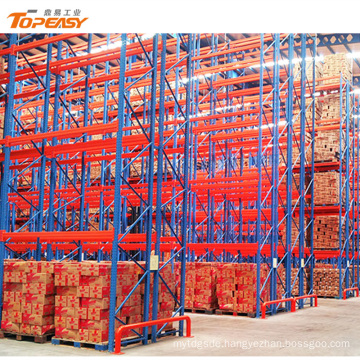 heavy duty warehouse storage double-deep pallet racking systems