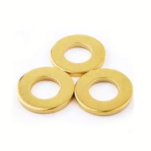 Customized high pressure round shaped thickening brass washer