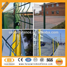 Good quality & best price powder coated wire mesh used for fencing