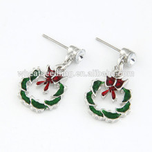 Hot selling cheap novelty christmas earrings