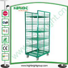 Milk Srorage Logistic Rolling Container Trolley