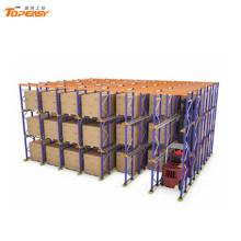 warehouse indutrial storage metal drive-in pallet rack