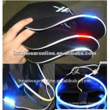 Модные светодиодные бейсболки / бейсболки со светодиодными фонарями