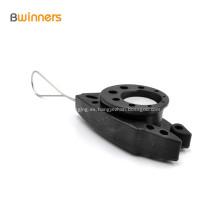 Abrazadera de alambre de fibra plástica fuerte cable abrazadera clips de cable de pescado
