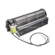 Kit de ventilador de substituição de inserção de gás de ventilador de lareira