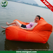 outdoor large floated beanbag for adult luxury size beanbag