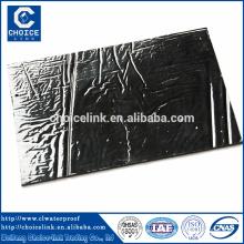 Membrane imperméable autocollante adhésive en caoutchouc