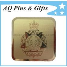 Ouro personalizado metal dinheiro clipe em ouro chapeamento (golf-06)
