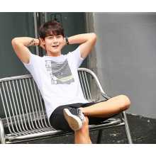 Fashion summer short sleeve cotton imprint men clothes customized logo available T-shirt