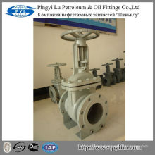 Z41H-16C GOST cast steel natural gas manual gate valve