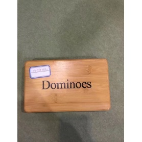 Custom Melamine Dominoes Game Set In Luxury Box