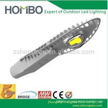 30w alta qualidade ao ar livre ip65 BridgeLux cob solar levou rua preço leve