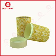 Color Printed High Quality Candle Paper Tube Packaging