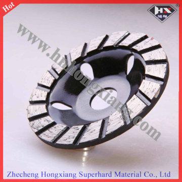 Горячий прессованный алюминиевый шлифовальный круг алмазного шлифовального круга