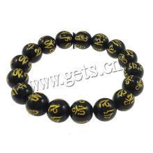 Bracelet bouddhiste en bois de santal noir Gets.com