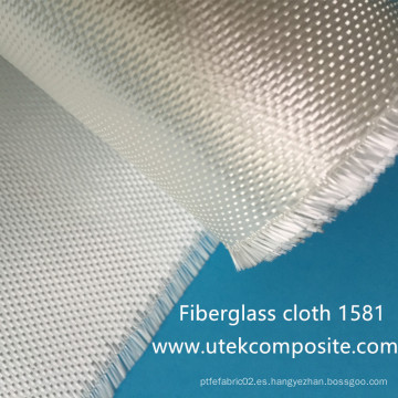 8.8oz 1581 Paño de fibra de vidrio con alta resistencia