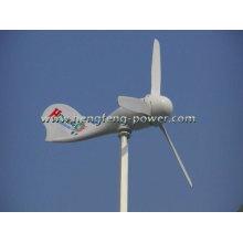 Turbina de viento, tipo de steamline, luz, conveniente para la luz de calle