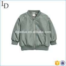 Satin fabric boys jacket children outdoor luxury urban coat